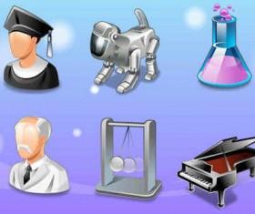 Vista Education icons