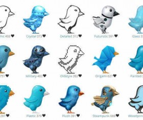 The Amazing Twitter Birds