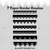 Paper Border Brushes