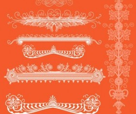 Ornamental Elements Photoshop brushes set