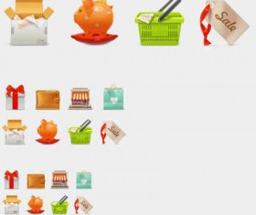 eCommerce icon Set