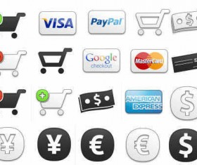 eCommerce Shopping Cart icon Pack