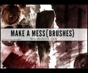Make a Mess Brush set