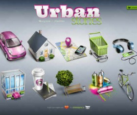 Urban Stories icons