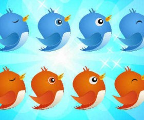 Free Twitter Bird icon pack