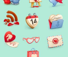 Valentine s Day Icon Set