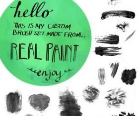 Jess\'s Acrylic Texture Photoshop Brushes