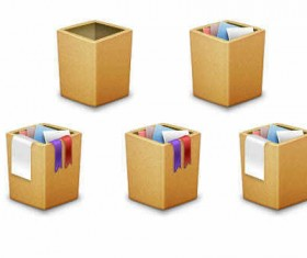 Trash Box icons