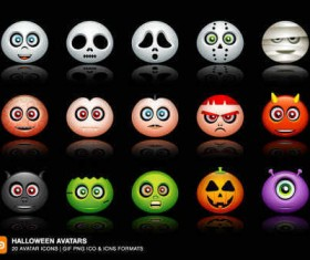 Halloween Avatars icons
