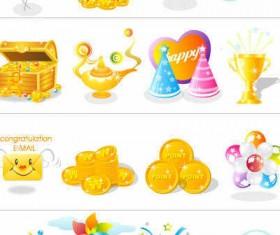 Free Vector Celebration icons