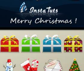 12 Christmas Themed icons