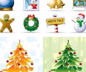Cute Christmas icons