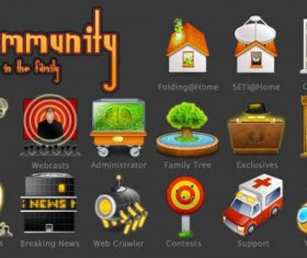 The Community icons