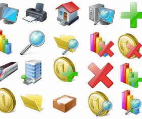 Vista Stock icons