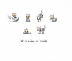 Kitty Alive icons