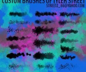 Custom Brushes Tyler Street