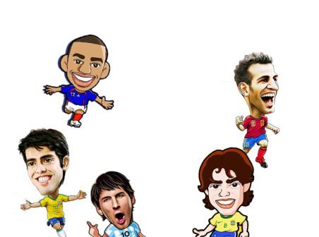 Player characters cartoon