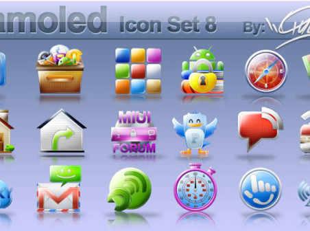 Samoled: icon set 8