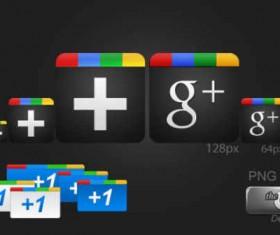 Google Plus Creative icons