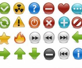 Creative Stock icons