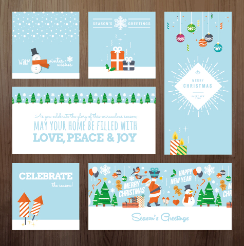 2015 xmas and new year greeting cards kit vector 01 free download 2015 xmas and new year greeting cards kit vector 01 m4hsunfo