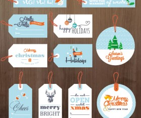 2015 xmas and new year tags vector graphics 01