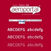 Link toAeroportal series fonts set