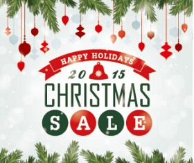 Big sale christmas creative background vector 03