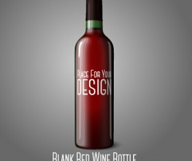 Wine bottle vector for free download for Wine bottle material