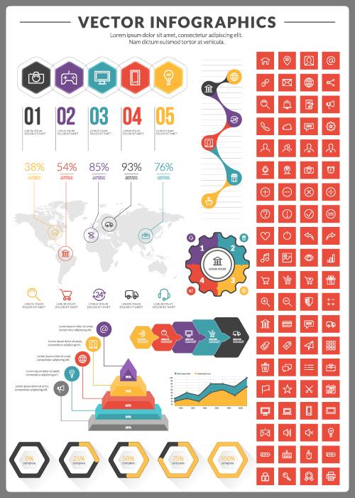 Business Infographic creative design 2431