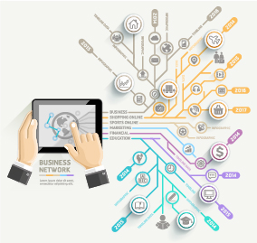Business Infographic creative design 2448
