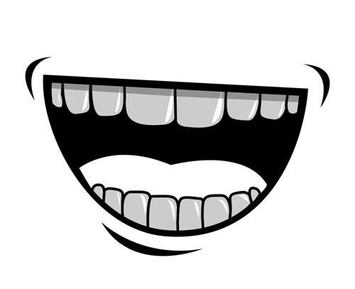 cartoon mouth and teeth vector set 04 vector cartoon free download rh freedesignfile com mouth vector freepik mouth vector art