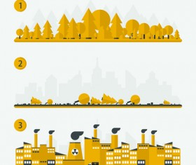 Concept ecology and environment business template vector 02