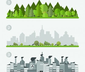 Concept ecology and environment business template vector 03