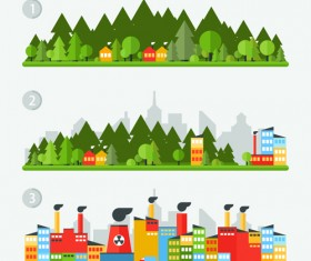 Concept ecology and environment business template vector 04