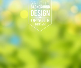 Green style blurred background vector 02