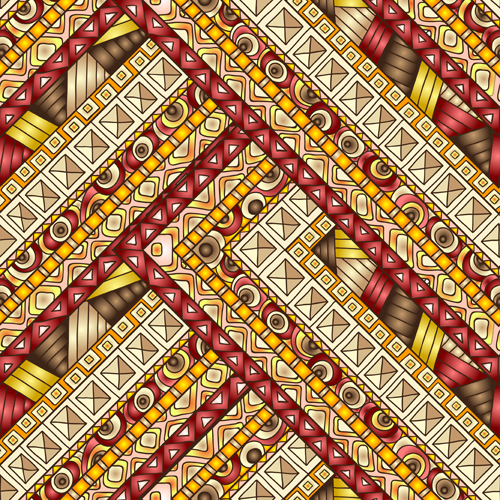 Luxury Antique Patterns Seamless Vector 01 Free Download