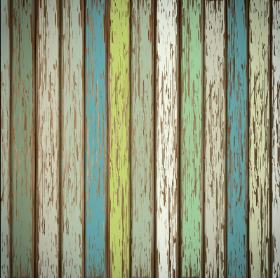 Old wooden board textured vector background 02