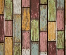 Old wooden board textured vector background 03