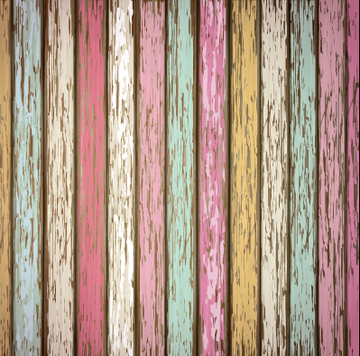 Old wooden board textured vector background 04