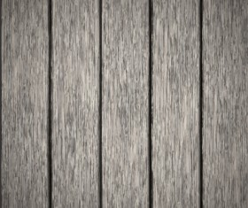 Old wooden board textured vector background 07