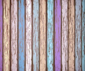Old wooden board textured vector background 14