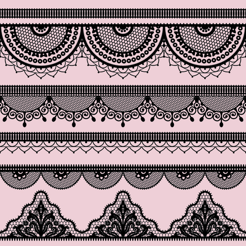 ... border design vector set 01 - Vector Frames & Borders free download