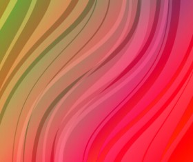 Shiny colored wave background design 04