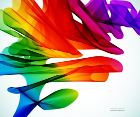 Silk dynamic colorful background art vector 01