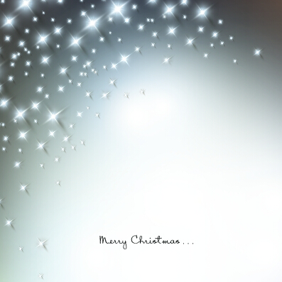 simple merry christmas shiny vector background