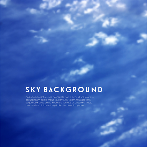 sky blue background vector - photo #12