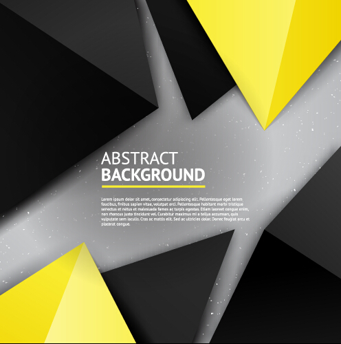 Triangle embossment colored background vector graphics 03