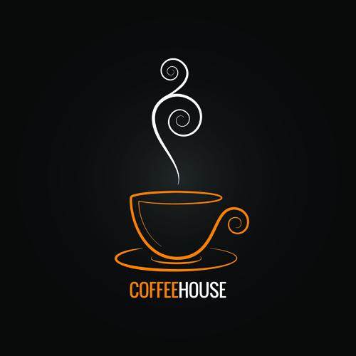 Vector coffee menu logo design 02 - Vector Logo free download
