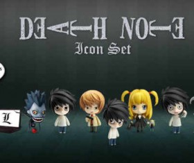 Death Note Icon Set